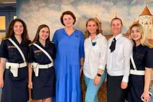 Представители академии приняли участие в республиканском фестивале Вернисаж идей «Дзявочы вянок Міра»