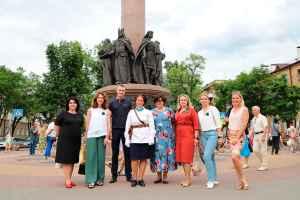 Союз женщин МВД встретил рассвет в Брестской крепости